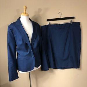 Lane Bryant Blazer & Pencil Skirt
